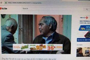 Yêu cầu nhiều nhãn hàng, thương hiệu lớn dừng ngay quảng cáo trong các clip xấu, độc trên Youtube