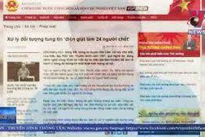 Hà Nội: Công an triệu tập đối tượng tung tin đồn điện giật làm 24 người chết