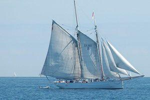 Vừa tu sửa hết 1,5 triệu euro, tàu gỗ thế kỷ 19 chìm vì đâm tàu hàng