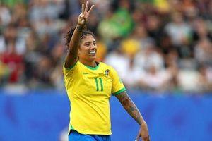 Nữ tiền đạo Brazil lập kỷ lục ở World Cup 2019