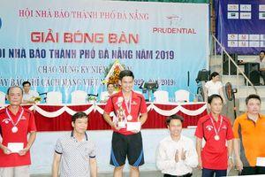 Bế mạc giải Bóng bàn Hội Nhà báo TP Đà Nẵng