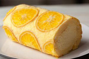 Cách làm bánh kem cuộn cam ngon ngất ngây, 'đánh bay' nắng nóng