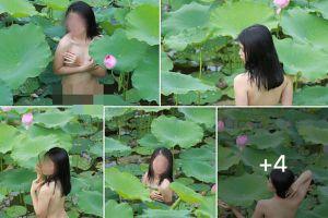 Nude bên sen, tuyệt tình cốc: Bộ ảnh gây 'nóng mặt' nhất của giới trẻ