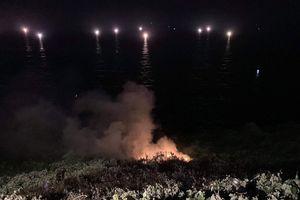 Đà Nẵng: Đám cháy lớn trên bán đảo Sơn Trà cơ bản được dập tắt