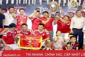 FC Báo chí Thanh Hóa vô địch Giải Bóng đá Báo chí miền Trung tại Hà Tĩnh