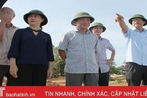 Can Lộc cần sớm triển khai cắm mốc hành lang hồ đập, đê điều