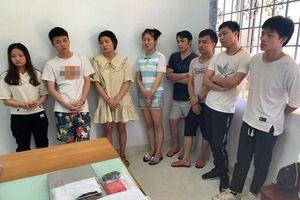 Phá đường dây đánh bạc xuyên biên giới, bắt 77 người Trung Quốc