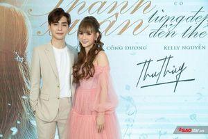 Thu Thủy lần đầu công khai bạn trai mới, nghẹn nước mắt trong buổi ra mắt MV 'Thanh xuân từng đẹp đến thế'