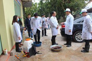 Thái Nguyên: Quyết liệt phòng chống dịch tả lợn châu Phi