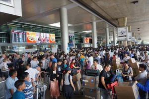 Sân bay đầu tiên của Việt Nam không phát thanh thông tin chuyến bay