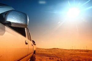 Đỗ xe giữa trời nắng nóng, ô tô thiệt hại 'kinh khủng' thế nào?