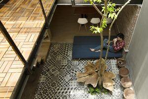 Nhà 46m2 trong hẻm nhỏ có không gian thiết kế hợp lý
