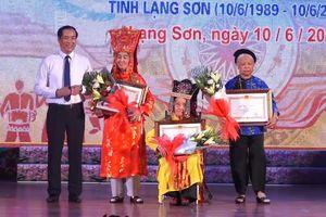 Lạng Sơn vinh danh các 'Nghệ nhân Nhân dân', 'Nghệ nhân Ưu tú'