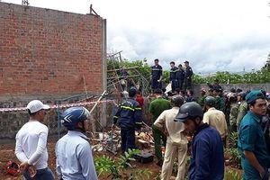 Sập nhà trong lúc đổ trần bê tông, chủ thầu tử vong