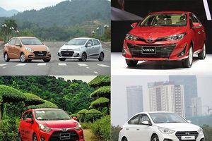 10 xe bán chạy nhất Việt Nam: Toyota Vios về số 1, Mitsubishi Xpander bám đuổi quyết liệt