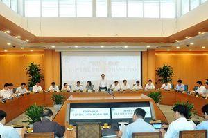 Tập thể UBND TP Hà Nội xem xét, quyết định 7 nội dung trình HĐND TP