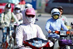 Thời tiết ngày 11.6: Nắng nóng tiếp tục gia tăng, Hà Nội có thể lên tới hơn 40oC