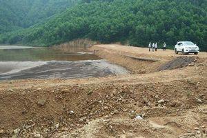 Bảo đảm an toàn đập hồ Bàn Cờ ở Thái Nguyên