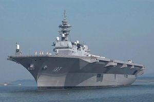 Chiến hạm trực thăng mạnh nhất Nhật Bản sắp tới Việt Nam