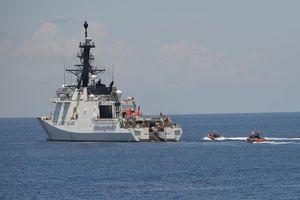 Tuần duyên Mỹ theo dõi hoạt động của dân quân biển Trung Quốc ở Biển Đông