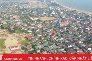 Xã biển ở Hà Tĩnh: Mở rộng đoạn đường dài 150m phải giải tỏa 36 căn nhà