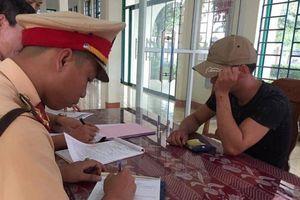 Phát hiện 5 lái xe dương tính với chất ma túy ở Quảng Trị