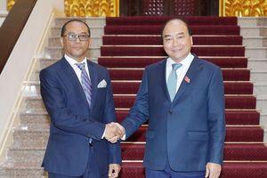Thủ tướng tiếp Bộ trưởng Ngoại giao và Hợp tác Timor – Leste