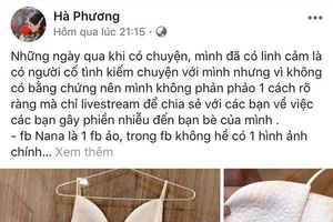 MC Hà Phương liên tục phản pháo việc bị bóc phốt thanh lý váy 'như giẻ lau' với giá 500k, tố ngược người mua hãm hại mình