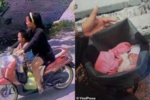 Tự sinh con tại nhà rồi vứt thẳng ra bãi rác giữa ngày nắng nóng