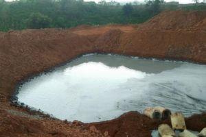 Đắk Nông: Xử phạt 01 doanh nghiệp 108 triệu đồng do xả nước thải 'bẩn' ra môi trường