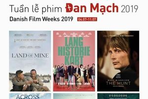 Tuần phim Đan Mạch 2019 diễn ra tại Huế và Đà Nẵng