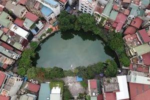 Những hồ nước nhỏ xinh dịu mát Hà Nội ngày nắng nóng