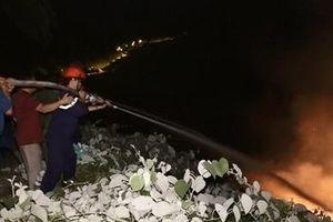 Hàng trăm người tham gia dập lửa trên bán đảo Sơn Trà trong đêm