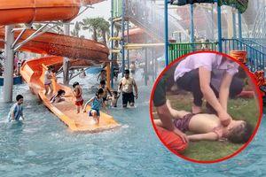 Nóng: Một bé trai bị đuối nước tại Công viên nước Thanh Hà, chỉ 3 ngày sau khi khu vui chơi khai trương