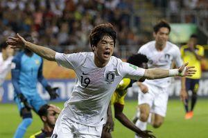 Đội bóng quê hương HLV Park Hang-seo tạo địa chấn ở U20 World Cup