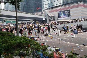 Trung Quốc nói gì về tin đồn đưa quân đội dẹp biểu tình?