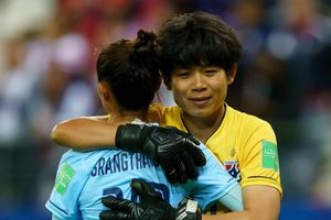 Tuyển nữ Thái Lan nhận thất bại đậm nhất lịch sử World Cup
