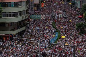 Hưởng ứng biểu tình, hàng trăm doanh nghiệp Hong Kong đóng cửa