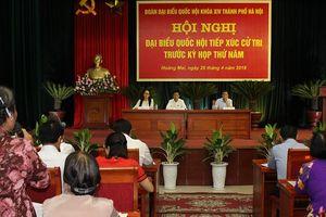 Lịch tiếp xúc cử tri của đại biểu HĐND TP trước kỳ họp thứ 9 HĐND TP Hà Nội khóa XV