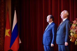 Bộ trưởng, Chủ nhiệm VPCP chúc mừng Quốc khánh LB Nga