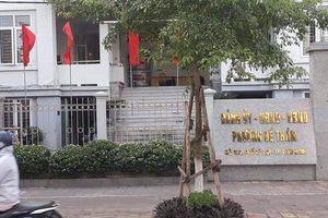 Tạm giữ hình sự 1 bí thư Đoàn phường để điều tra hành vi dâm ô bé gái 11 tuổi