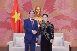 Chủ tịch Quốc hội Nguyễn Thị Kim Ngân tiếp Chủ tịch Nhóm Nghị sĩ hữu nghị Hàn Quốc-Việt Nam