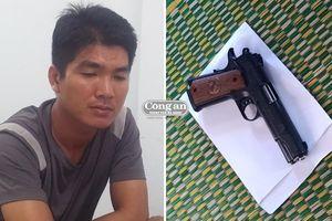 Truy nóng tên cướp nổ súng tại cơ sở buôn hải sản