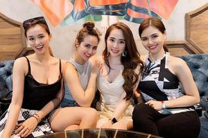 Ngưỡng mộ gu thời trang tinh tế của nhóm bạn thân Vân Hugo, Lã Thanh Huyền