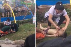 Vui chơi ở công viên nước đẹp nhất Hà Nội, bé trai 4 tuổi nhập viện do đuối nước