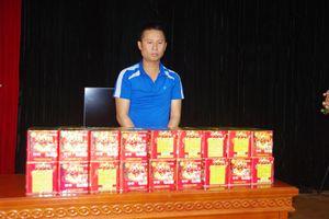 Lạng Sơn: Bắt vụ vận chuyển gần 50kg pháo nổ qua biên giới