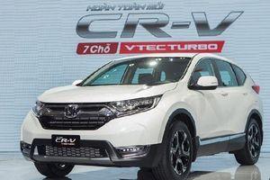 CR-V vẫn bán chạy nhất trong các mẫu xe của Honda