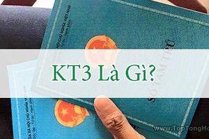 Bạn đã phân biệt được KT1, KT2, KT3 với sổ hộ khẩu chưa?