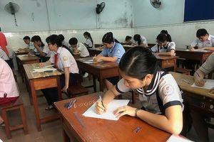 Điểm thi lớp 10 tại TPHCM: 50% bài thi môn Anh văn và Toán dưới trung bình