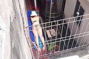 Cô gái diện bikini nằm nhuộm da giữa trời Hà Nội nóng 40 độ, dân mạng bình luận: 'Chả mấy thành mực một nắng'